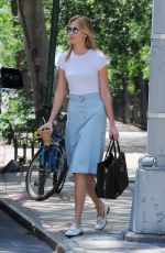 KARLIE KLOSS Out and About in West Village 05/23/2016