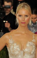 KAROLINA KURKOVA at Costume Institute Gala 2016 in New York 05/02/2016