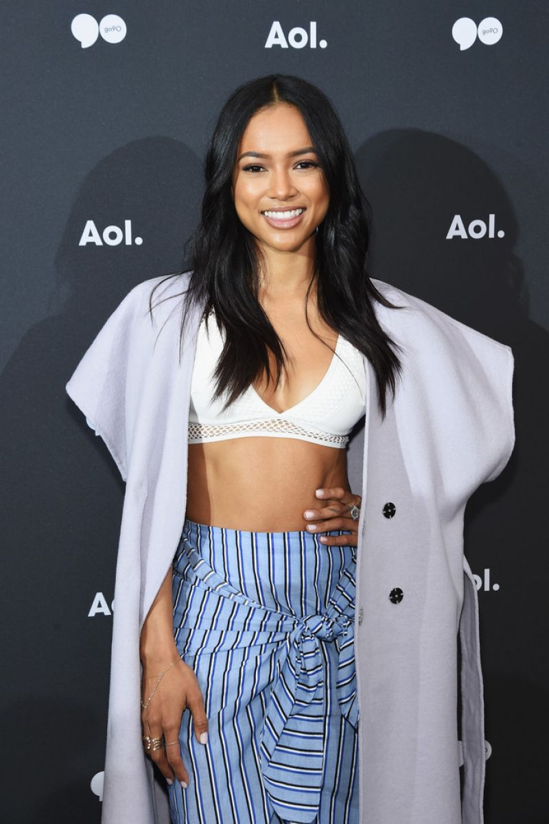 KARREUCHE TRAN at AOL Newfront 2016 in New York 05/03/2016
