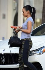 KARREUCHE TRAN Out for Shopping in Beverly Hills 05/21/2016
