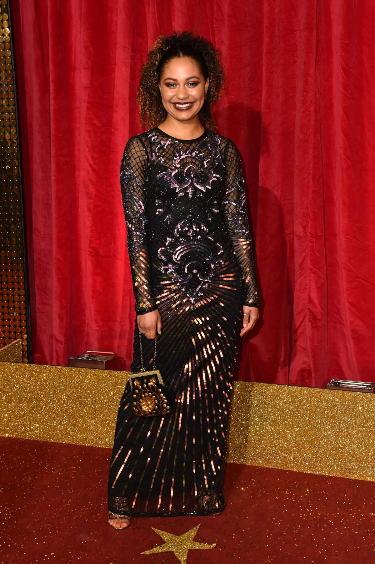 KASSIUS NELSON at British Soap Awards 2016 in London 05/28/2016
