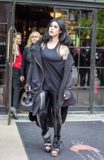 KAT VON D Out and About in Soho 05/10/2016