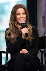 KATE BECKINSALE at AOL Build Speaker Series in New York 05/11/2016