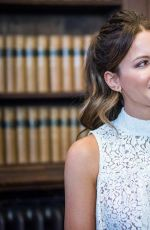 KATE BECKINSALE at Oxford Union in Oxford England, 05/27/2016
