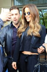 KATE BECKINSALE Leaves Her Hotel in New York 05/11/2016