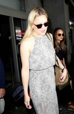 KATE HUDSON Arrives at Nice Airport 05/14/2016
