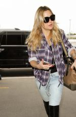 KATE HUDSON at LAX Airport in Los Angeles 05/11/2016