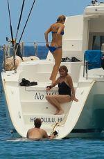 KATE HUDSON in Bikini at a Yacht in Hawaii 05/29/2016