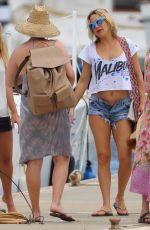 KATE HUDSON in Daisy Duke at a Beach in Hawaii 05/29/2016