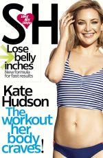 KATE HUDSON in Shape Magazine, June 2016 Issue