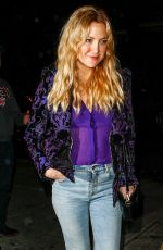 KATE HUDSON Night Out in New York 05/01/2016