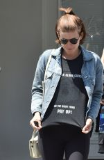 KATE MARA Leaves a Gym in Beverly Hills 05/23/2016