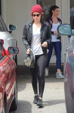 KATE MARA Leaves a Gym in West Hollywood 05/09/2016