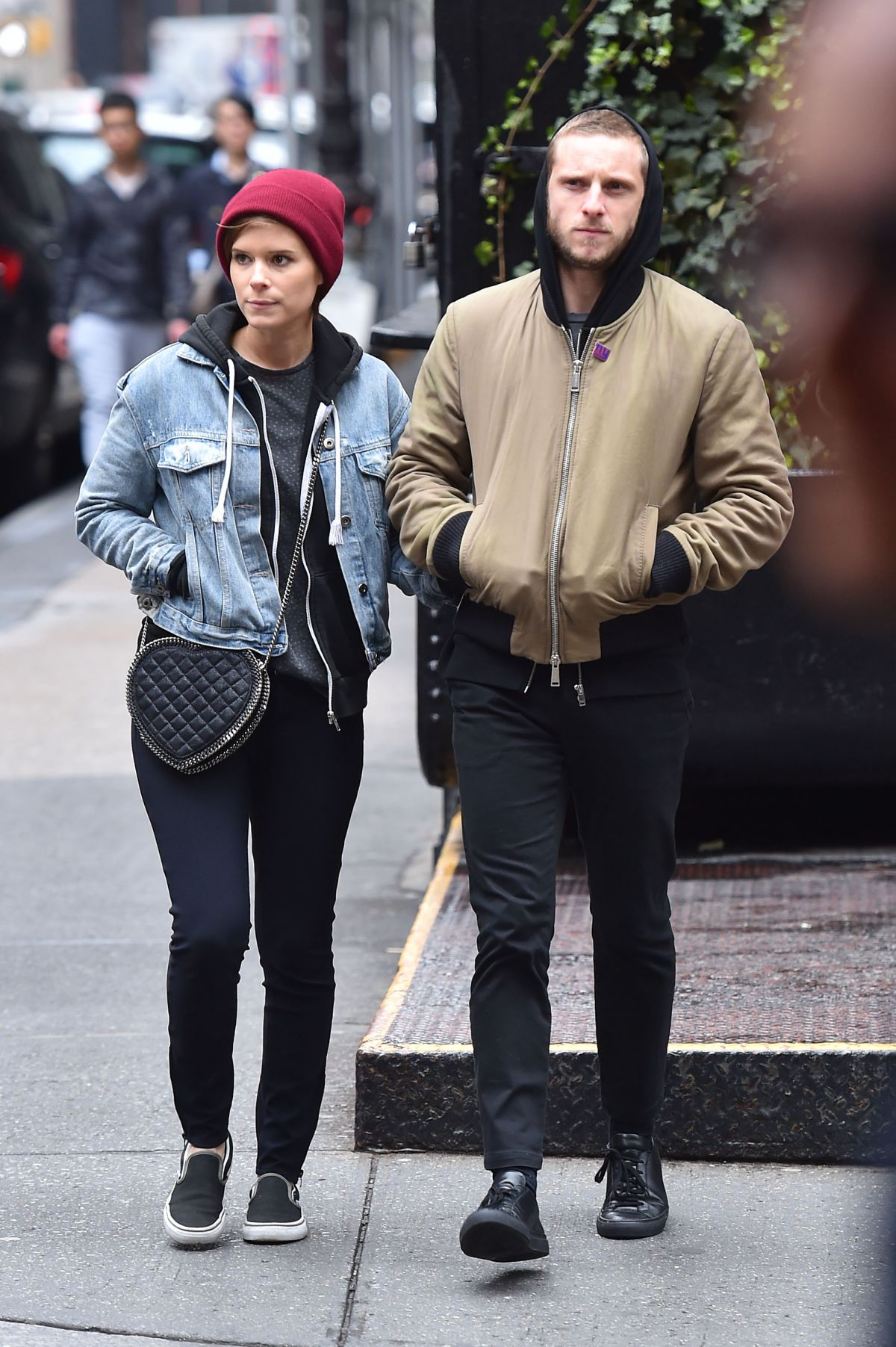 KATE MARA Out and About in New York 05/01/2016