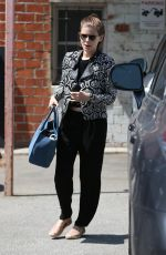 KATE MARA Out and About in West Hollywood 05/26/2016