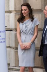 KATE MIDDLETON at Anna Freud Centre in London 05/04/2016