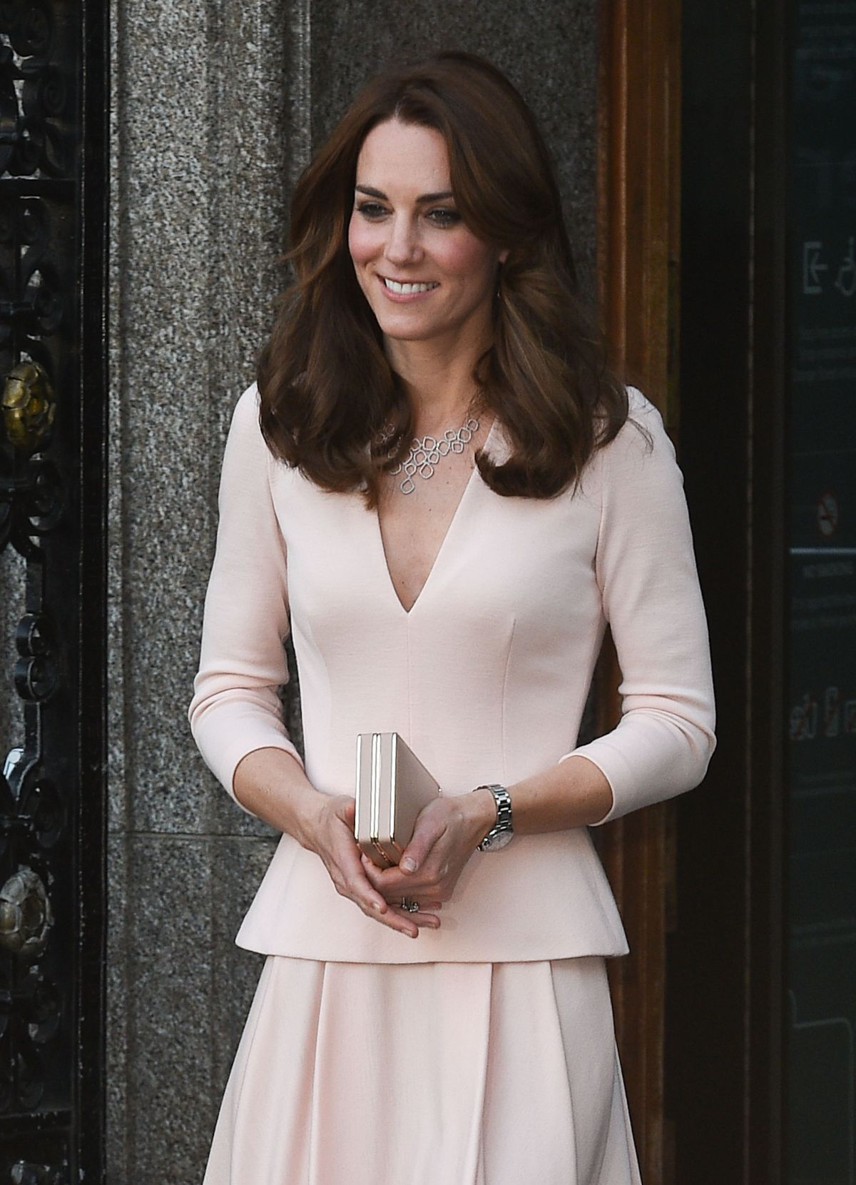 KATE MIDDLETON at National Portrait Gallery in London 05/04/2016