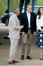 KATE MIDDLETON at Olympic Park in London 05/16/2016