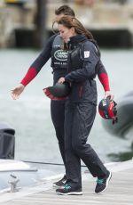 KATE MIDDLETON at T1 Development Boat in Portsmouth 05/20/2016