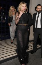 KATE MOSS at Vogue 100th Anniversary Gala Dinner in London 05/23/2016