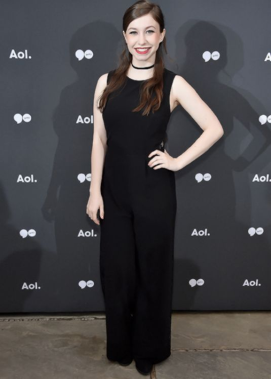 KATELYN NACON at AOL Newfront 2016 in New York 05/03/2016