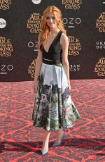 KATHERINE MCNAMARA at Alice Through the Looking Glass Premiere in Hollywood 05/23/2016