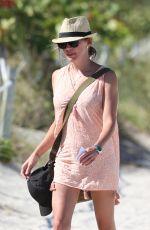 KATIE CASSIDY in Bikini at a Beach in Miami 05/08/2016