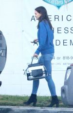KATIE HOLMES Leaves Gym Class in Los Angeles 05/07/2016
