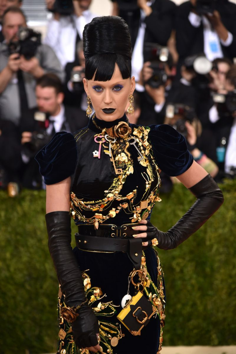 KATY PERRY at Costume Institute Gala 2016 in New York 05/02/2016