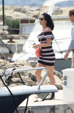 KATY PERRY Out and About in Cannes 05/18/2016