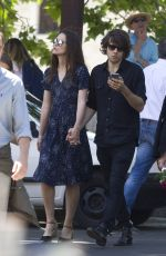 KEIRA KNIGHTLEY Out and About in Rome  05/22/2016
