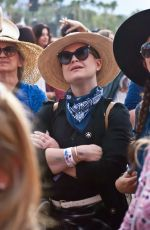 KELLY OSBOURNE at Stagecoach in Indio 04/30/2016