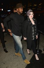 KELLY OSBOURNE Night Out in West Hollywood 05/18/2016
