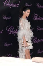 KENDALL JENNER at Chopard Dinner at Baoli Beach in Cannes 05/16/2016