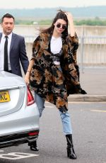 KENDALL JENNER at Heathrow Airport in London 05/27/2016