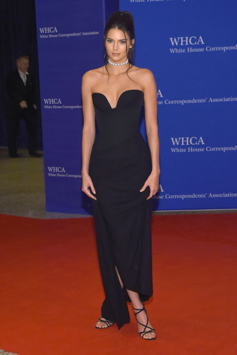 KENDALL JENNER at White House Correspondents