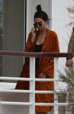 KENDALL JENNER in Swimsuit at Eden Roc Hotel in Cannes 05/13/2016