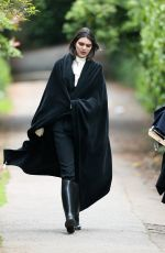 KENDALL JENNER on the Set of a Photoshoot in London 05/24/2016