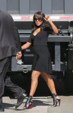 KERRY WASHINGTON Arrives at Jimmy Kimmel Live in Los Angeles 05/12/2016