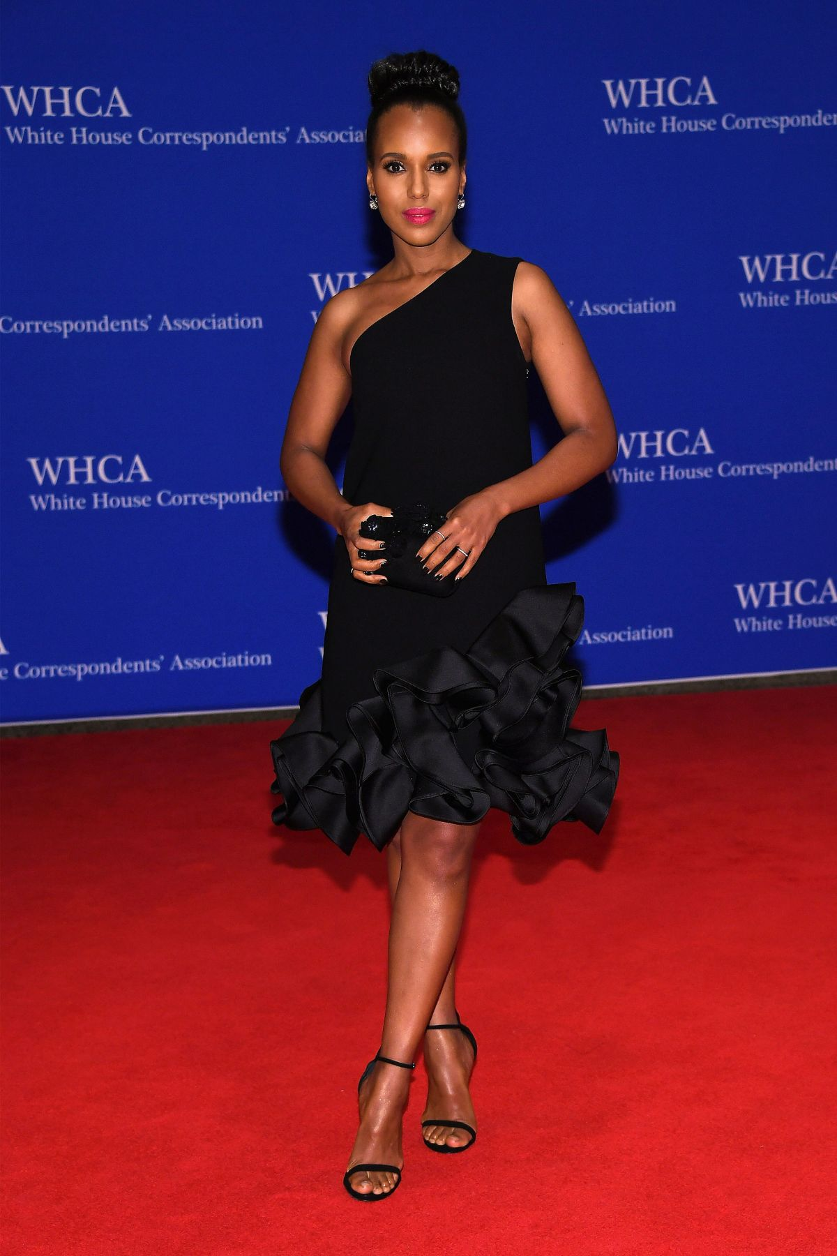 KERRY WASHINGTON at White House Correspondents' Dinner in Washington 04/30/2016