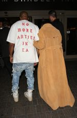 KIM KARDASHIAN and Kanye West at LAX Airport in Los Angeles 05/19/2016