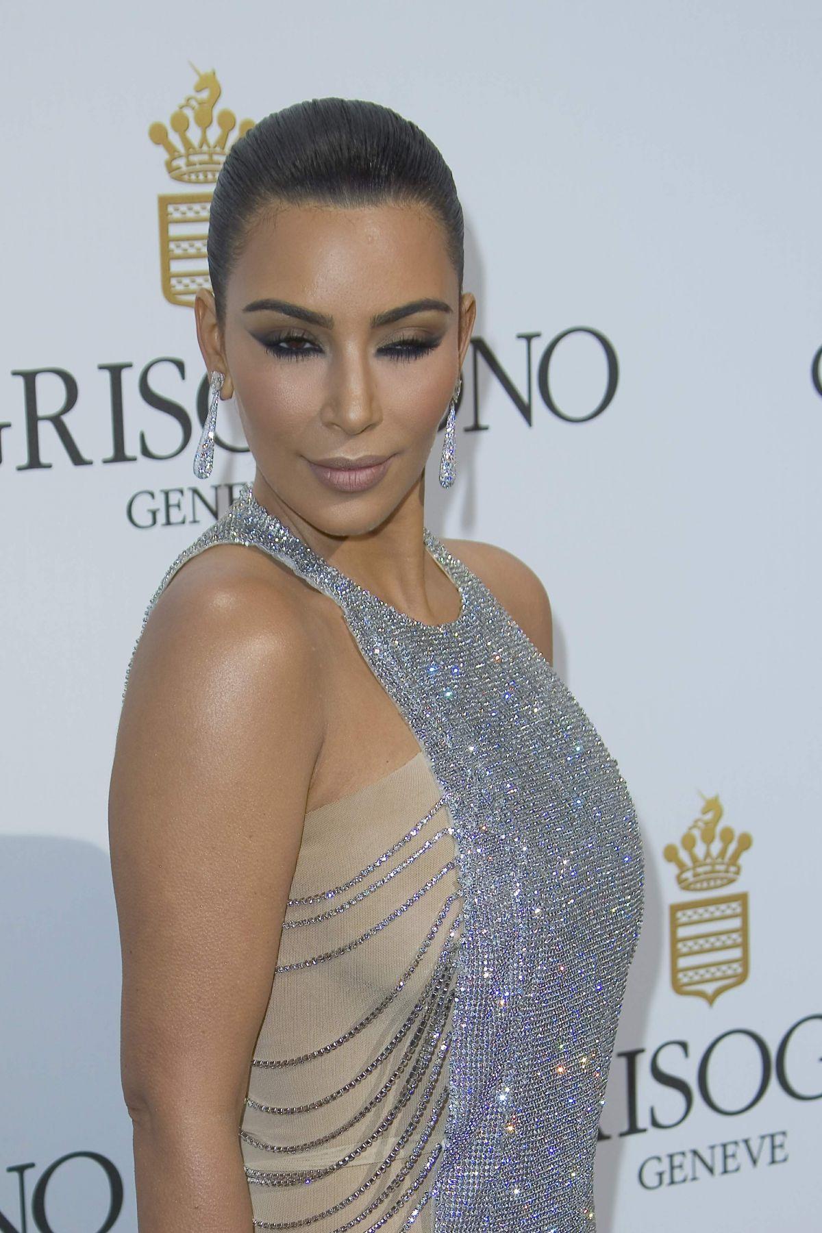 KIM KARDASHIAN at De Grisogono Party at Cannes Film ... Kim Kardashian