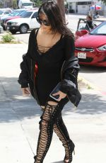 KIM KARDASHIAN at Katsuya Restaurant in Hollywood 05/11/2016