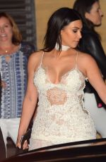 KIM KARDASHIAN at Nobu in Malibu 05/26/2016