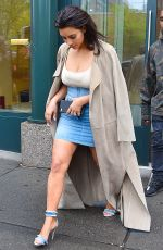 KIM KARDASHIAN Leaves Her Apartment in New York 05/01/2016