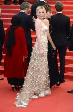 KIRSTEN DUNST at 69th Annual Cannes Film Festival Closing Ceremony 05/22/2016