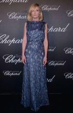 KIRSTEN DUNST at Chopard Trophy Ceremony at 69th Annual Cannes Film Festival 05/12/2016