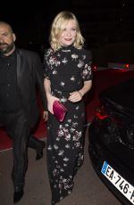 KIRSTEN DUNST at Gotha Nightclub in Cannes 05/15/2016