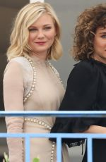 KIRSTEN DUNST at Jury Cocktail Party at 69th Cannes Film Festival in Cannes 05/10/2016