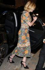 KIRSTEN DUNST at Tetou Restaurant in Cannes 05/12/2016